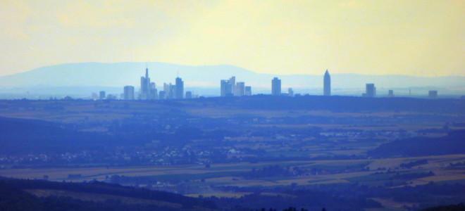 Blick auf Frankfurt am Main