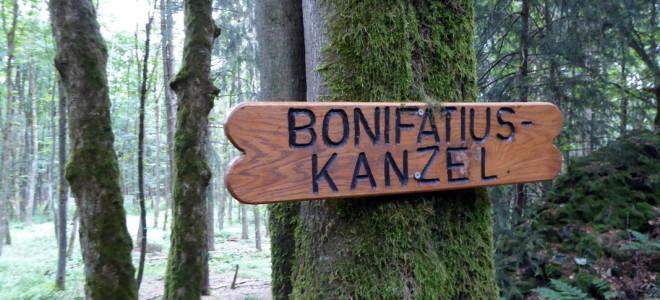 Bonifatius Kanzel -Basaltformation
