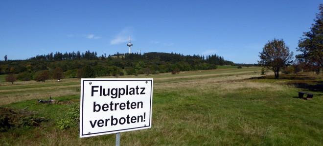 Rundweg Segelflugplatz - Hoherodskopf