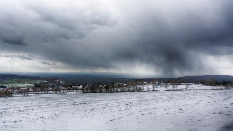 Winter im April - Herchenhainer Höhe