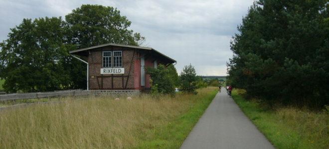 Vulkanradweg bei Rixfeld