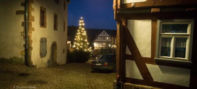 Schlitz - Weihnachtsstimmung