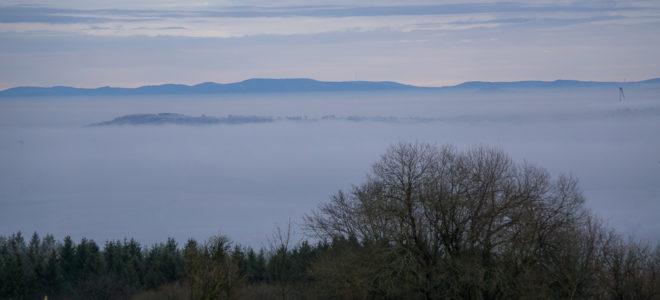 Inverionwetterlage-Vogelsberg