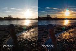 Niedermooser See - Ist Fotografie Kunst - Vogelsbergliebe - vorher-nachher